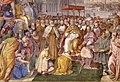 Francesco salviati e giuseppe porta detto il salviatino, Riconciliazione di papa Alessandro III e Federico Barbarossa, 1565-75, 06.jpg