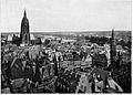 Frankfurt Am Main-DSGVFFM-003-Blick vom Turm der Paulskirche nach Sued-Osten-Carl Abt-1918.jpg