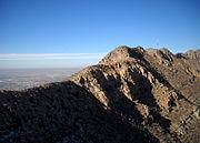 Franklin Moutains from Ranger Peak