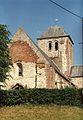 Franqueville (Aisne) église fortifiée, en 1991.jpg
