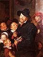 """Frans Hals - Le Joueur de rommelpot """"avec cinq enfants"""".jpg"""