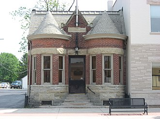 National Register of Historic Places listings in Benton County, Indiana - Image: Fraser & Isham Law Office