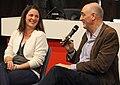 Fred Watson and Elizabeth Wylie de Boer 2014 07 22.jpg
