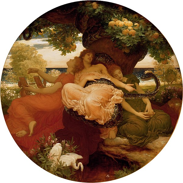 http://upload.wikimedia.org/wikipedia/commons/thumb/a/a3/Frederic_Leighton_-_The_Garden_of_the_Hesperides.jpg/602px-Frederic_Leighton_-_The_Garden_of_the_Hesperides.jpg