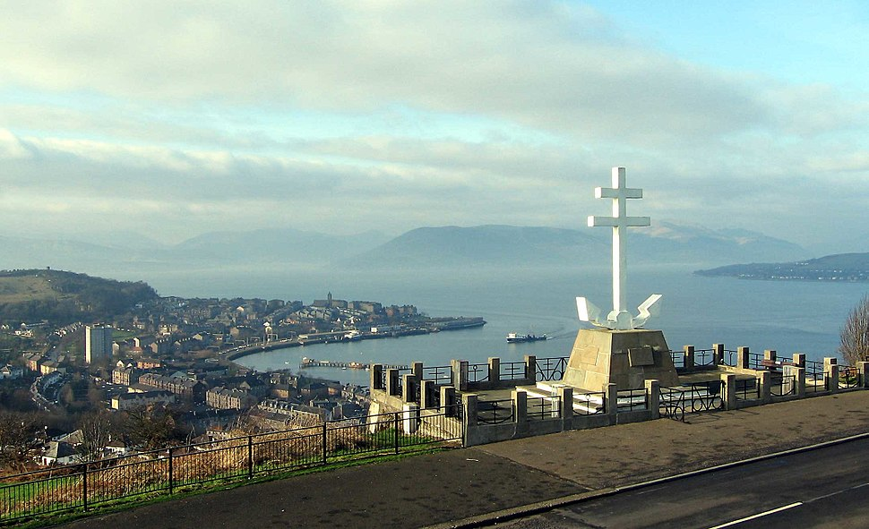 Free French Memorial Greenock
