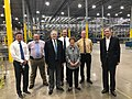 French Hill visits Dillard's distribution center.jpg