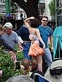 French Quarter Festival Dancers 2009.jpg