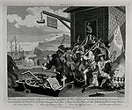 French troops loading a ship for the invasion of England. En Wellcome V0049298.jpg