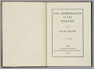 <i>Civilization and Its Discontents</i> book of Sigmund Freud