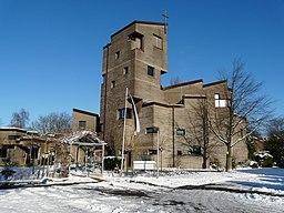 Friedenskirche Baumberg Winter