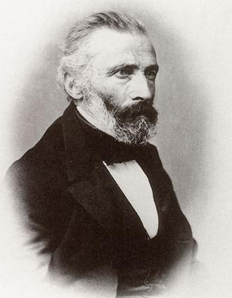 Friedrich Loos - Photo of Friedrich Loos, 1864