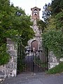 Front gate to St Celynnin's church, Llwyngwril. - geograph.org.uk - 235701.jpg