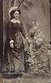 Full length portrait of a woman with an umbrella, ca. 1856-1900. (4732545844).jpg