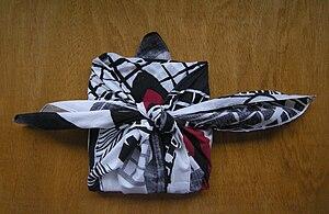Friedensreich Hundertwasser - Furoshiki by Hundertwasser.