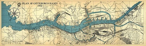 karta skandiahamnen göteborg Göteborgs hamn – Wikipedia karta skandiahamnen göteborg