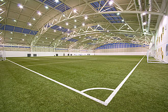 Aberdeen University Sports Union - Sports Village full sized indoor football pitch