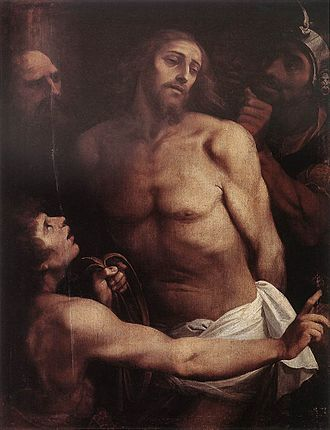 Giuseppe Cesari - Cavalier d'Arpino: the Passion of Christ, in the church of San Biagio e Carlo ai Catinari, Rome.