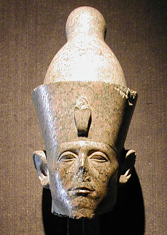 Middle Kingdom of Egypt - Statue head of Senusret III