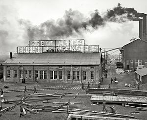 Great Lakes Engineering Works -  Great Lakes Engineering Works, circa 1906