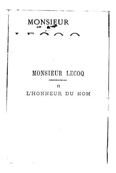 File:Gaboriau - Monsieur Lecoq, Dentu, 1869, tome 2.djvu