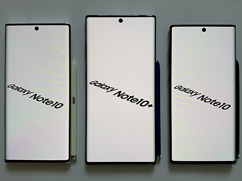 Samsung Galaxy Note 10 smartphones Galaxy Note 10.jpg