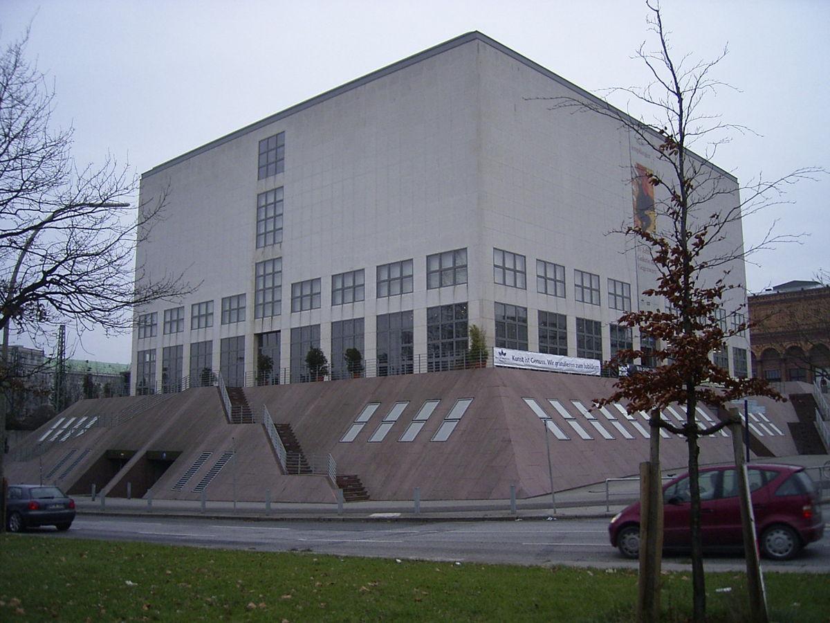Bestand Galerie Der Gegenwart Der Hamburger Kunsthalle In Hamburg