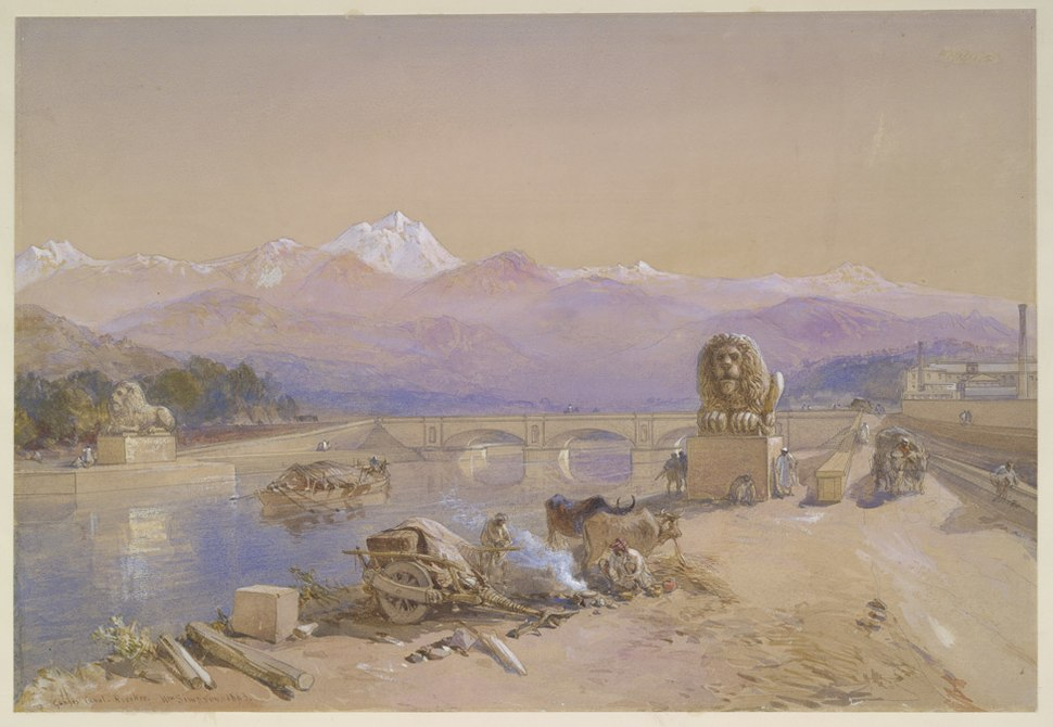 Ganges canal roorkee1860
