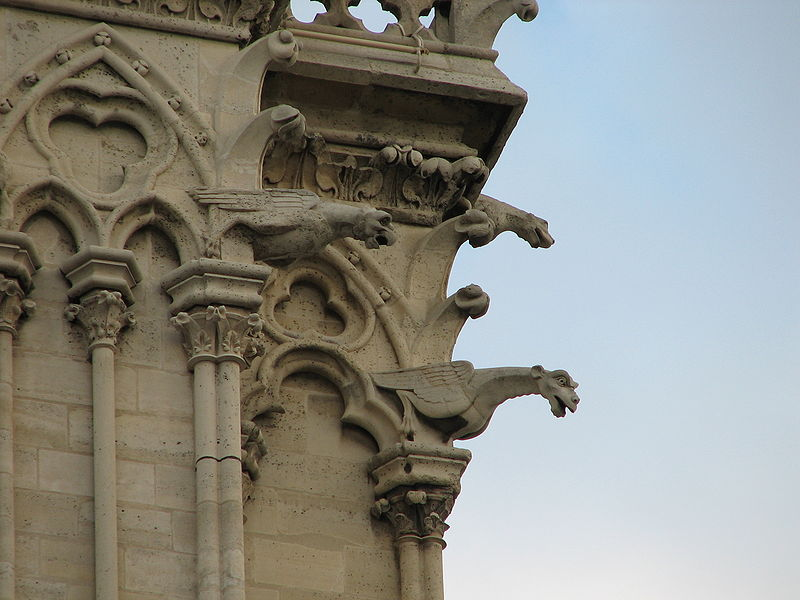 File:Gargoyles (Notre-Dame de Paris - South-West).JPG
