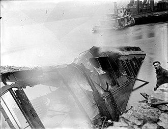 Garrison, New York - The Garrison train wreck, 1897