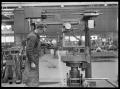 Gas cutting profiling machine at the Hutt Railway Workshops, Woburn, 1930. ATLIB 290262.png
