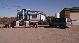 Behchokǫ̀ - Gas station Behchokǫ̀