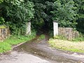 Gate Posts leading to Middlewood Hall, near Oughtibridge - geograph.org.uk - 716049.jpg