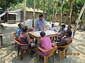 Gathering in a meeting of villagers in an Bangladeshi village 2015 29.jpg