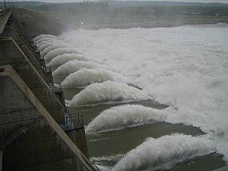 Gavins Point Dam - Image: Gavins record
