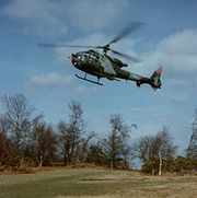 British Army Westland Gazelle AH.1