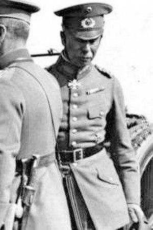 Walther Reinhardt - General Walther Reinhardt in 1926