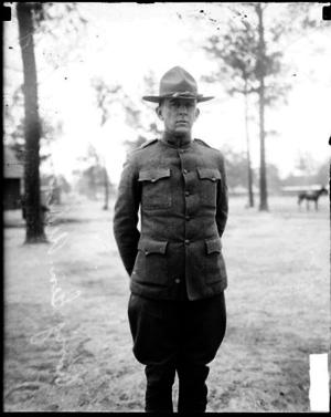 Albert H. Blanding - Blanding, Camp Logan in Houston, Texas, 1918