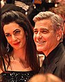 George Clooney and Amal Clooney - Berlin Berlinale 66 (24977282895) (cropped 2).jpg