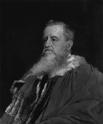 George Robinson, 1st Marquess of Ripon - Lord Ripon by George Frederic Watts