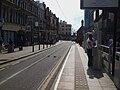 George Street tramstop look west.JPG