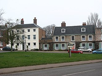 Hingham, Norfolk - Image: Georgian Houses, Hingham (696611 f 9c 2dc 32 by Evelyn Simak)