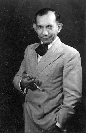 Gerard Pieter Adolfs - Portrait in 1937