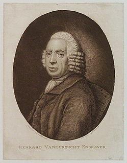 Gerard Vandergucht engraver