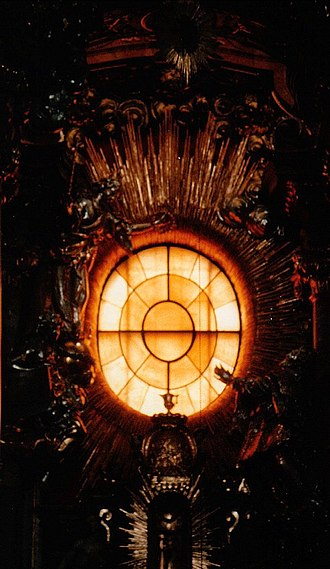 Cosmas Damian Asam - Window over the high altar in the Asamkirche