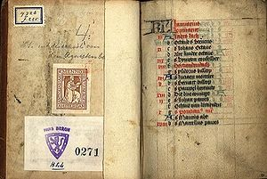 Religion in the Netherlands - The beginning of the Book of the Hours of Geert Grote