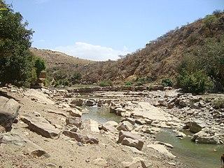 Bedrock river