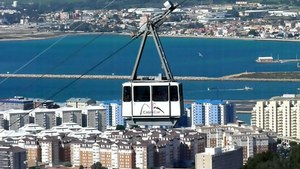 File:Gibraltar Cable Car - Mini Footage.ogv