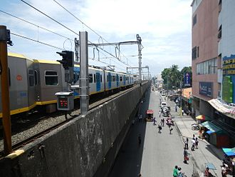 Taft Avenue - Taft Avenue looking south in Pasay from Gil Puyat LRT station