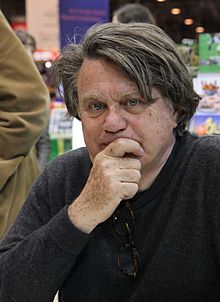 Gilbert Collard au Salon du livre de Paris, en mars 2010.