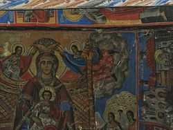 Gilofos St Demeter Church Fresco 1.JPG